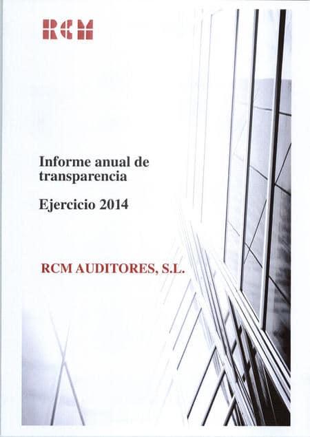 Informe de transparencia 2014